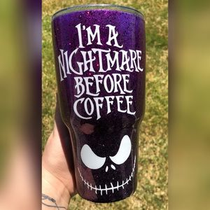 A nightmare before Christmas tumbler